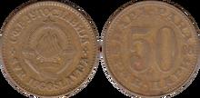 Yugoslavia 50 para 1980