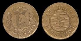File:Denmark ½ Rigsmontskilling 1857.jpg