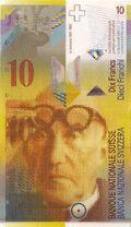 Switzerland 10 CHF obv v