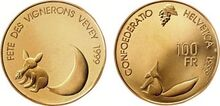 Swiss 100 fr Vevey