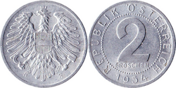 Austria S0.02 1954