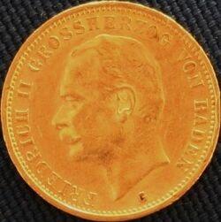 Baden Friedrich II 20 Mark