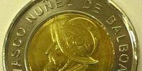 Panamanian 1 balboa coin