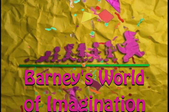 The '''Barney's World of Imagination''' Title Card