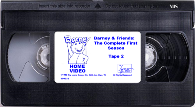 File:Barney & Friends The Complete First Season Tape 2.png