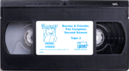 Barney & Friends The Complete Second Season Tape 3 (Renumbered)