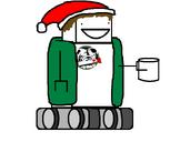 Christmas Mecha-Chuck (with gifts)