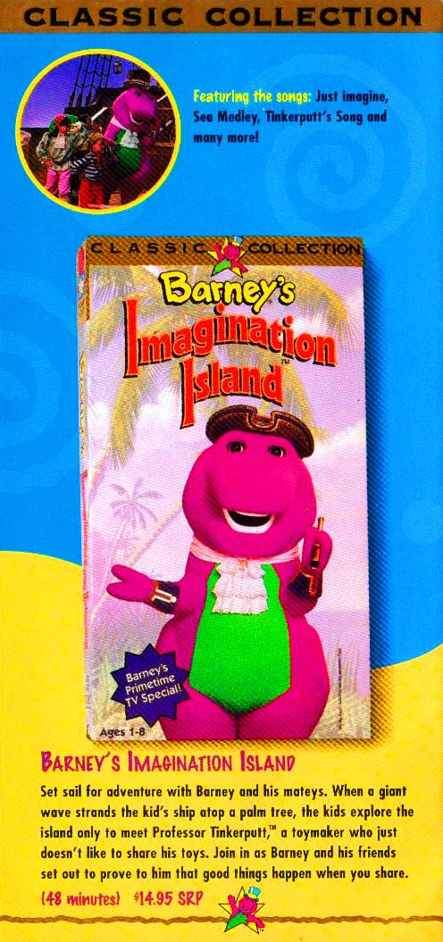 Image Barney Classic Collection Video By Bestbarneyfandrwg - Concert barney wiki