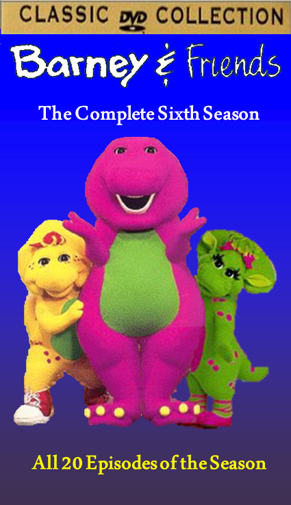 Barney & Friends The Complete Sixth Season DVD