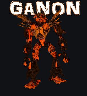 Stylzed rendering of Ganon