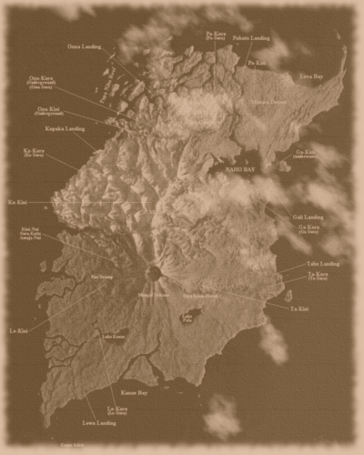 Old Mata Nui Map