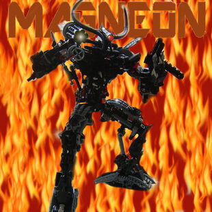 Magneon flame