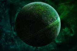 Green planet by DaShadeE