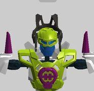 Crystal Green Hero Core