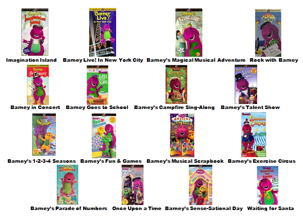 Image barney home video classics booklet 2000 page 2 for House classics 2000