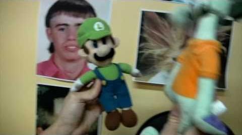 Cute Mario Bros My New Haircut