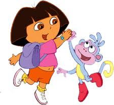 File:Cute Mario Bros. Dora and Boots.jpg