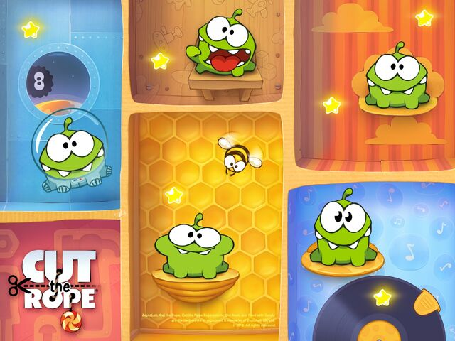 File:Cut The Rope:Om Nom HD Background.jpg
