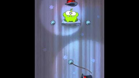 Cut the Rope 4-2 Walkthrough Magic Box