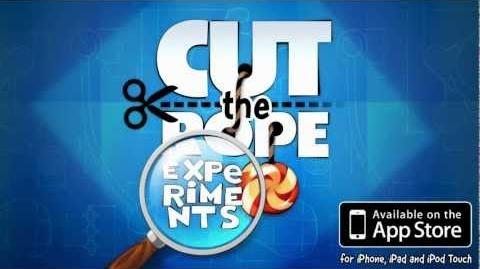Cut the Rope Experiments Trailer