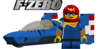 Captain Falcon's Racer: Blue Falcon