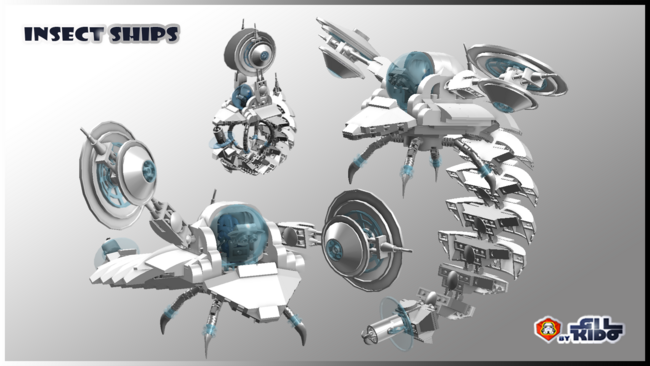 Insect ship 2