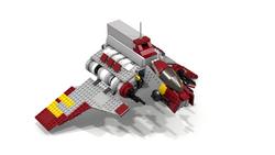 Abafar Shuttle Rendered
