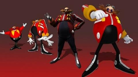 Eggman's themes over the years