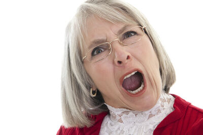 Angry-old-woman