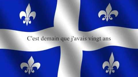 Hymne du Quebec - National Anthem of Quebec