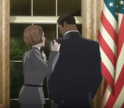 Obama cameo in 009 Re-Cyborg