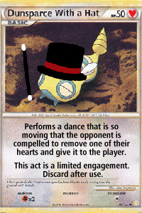 Dunsparce With A Hat