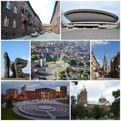 Katowice collage N