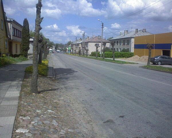 File:Užventis.centrinė gatvė.JPG
