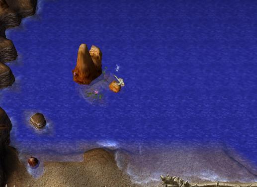 Pirate Treasure bubble spot