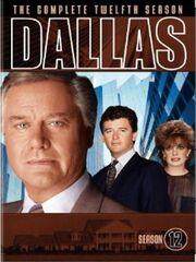 Dallas (1978) Season 12 DVD cover