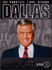 Dallas (1978) Season 14 DVD cover
