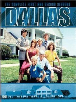 Dallas (1978) Seasons 1 and 2 DVD cover