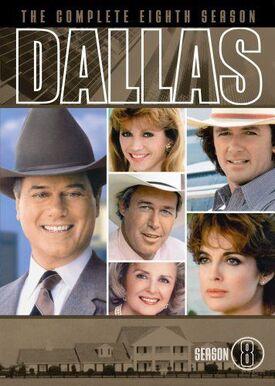 Dallas (1978) Season 8 DVD cover
