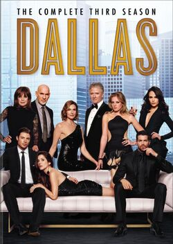 Dallas 2012 series - Season 3 DVD