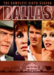 Dallas (1978) Season 6 DVD cover