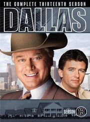 Dallas (1978) Season 13 DVD cover