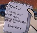 Dan's Revenge List