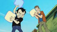 Dan and chris beating up buddy - reality tv