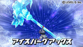 Iceberg axe