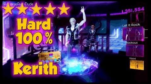 Dance Central 2 - Let It Rock - Hard 100% - 5* Gold Stars - 2.6 Millions Score (NEW DLC 21 08 12)