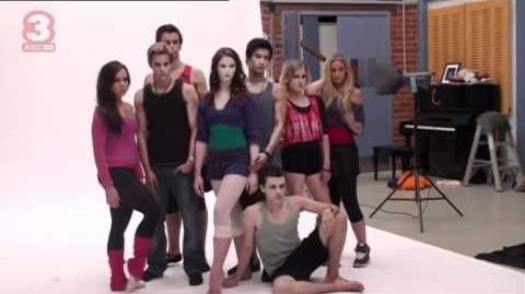 ABC3 Dance Academy Series 2 Publicity Shoot