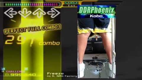 DDR X2 CS - Freeze (Single Challenge)
