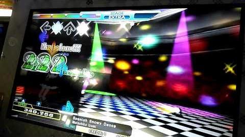 DanceDanceRevolution (2013) Mutsuhiko Izumi - Spanish Snowy Dance SP EXPERT