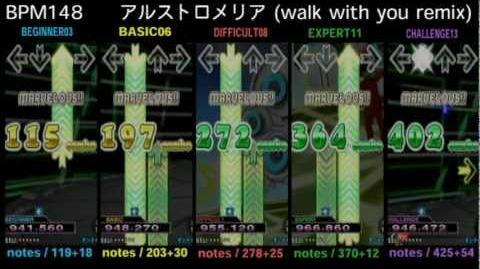 DDR X3 アルストロメリア (walk with you remix) - SINGLE